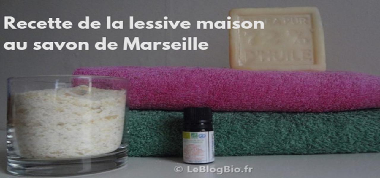 Recette de lessive maison DIY à base de savon de Marseille + adresses pour trouver les bons ingrédients