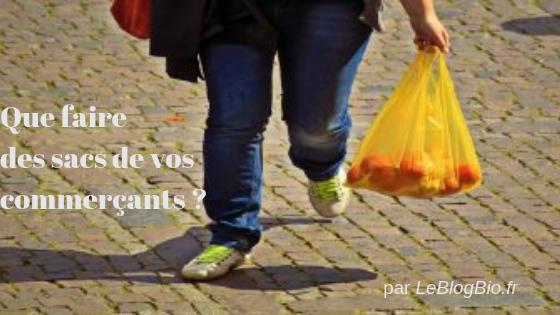 Que faire des sacs de vos commerçants ? Voici quelques astuces antigaspi