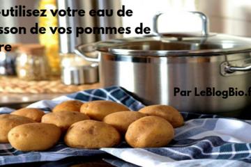 Les astuces d'utilisations d'eau de cuisson dans votre maison. LeBlogBio.fr #antigaspi