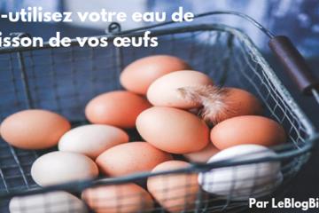 Ré-utilisez votre eau de cuisson de vos œufs. #zérodéchet #antigaspi #zerowaste
