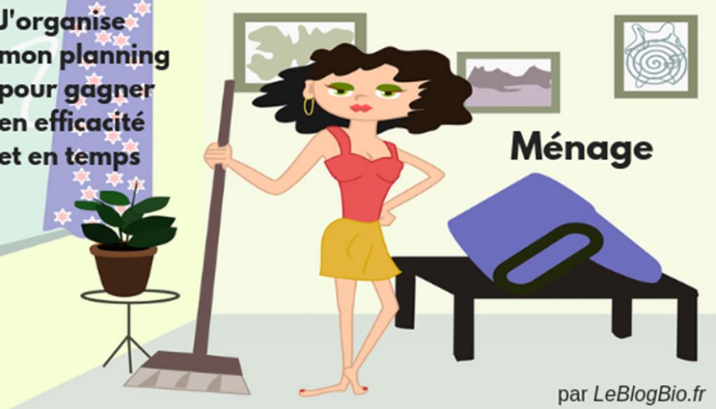 Ménage : j'organise mon planning pour gagner en efficacité et en temps #flylady #gaindetemps #organisation