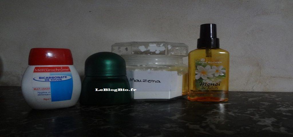Ma recette de déodorant DIY au Monoï ; LeBlogBIo.fr #santé #bio #antigaspi #zerodechet