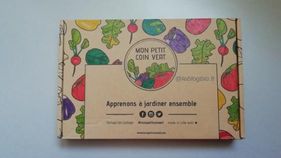 Mon petit coin vert : la box de jardinage parfaite pour un potager urbain 100% bio et écolo