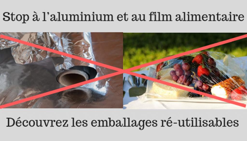 Stop à l'aluminium et au film alimentaire #noaluminum #aluminium #noplastic #nocellophane #emballagevegetal #madeinfrance #emballagenaturel #emballageecologique #emballagesreutisables