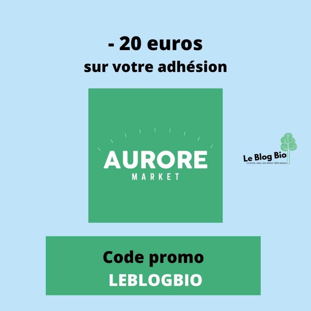 Aurore Market - Code Promo sur les courses en ligne