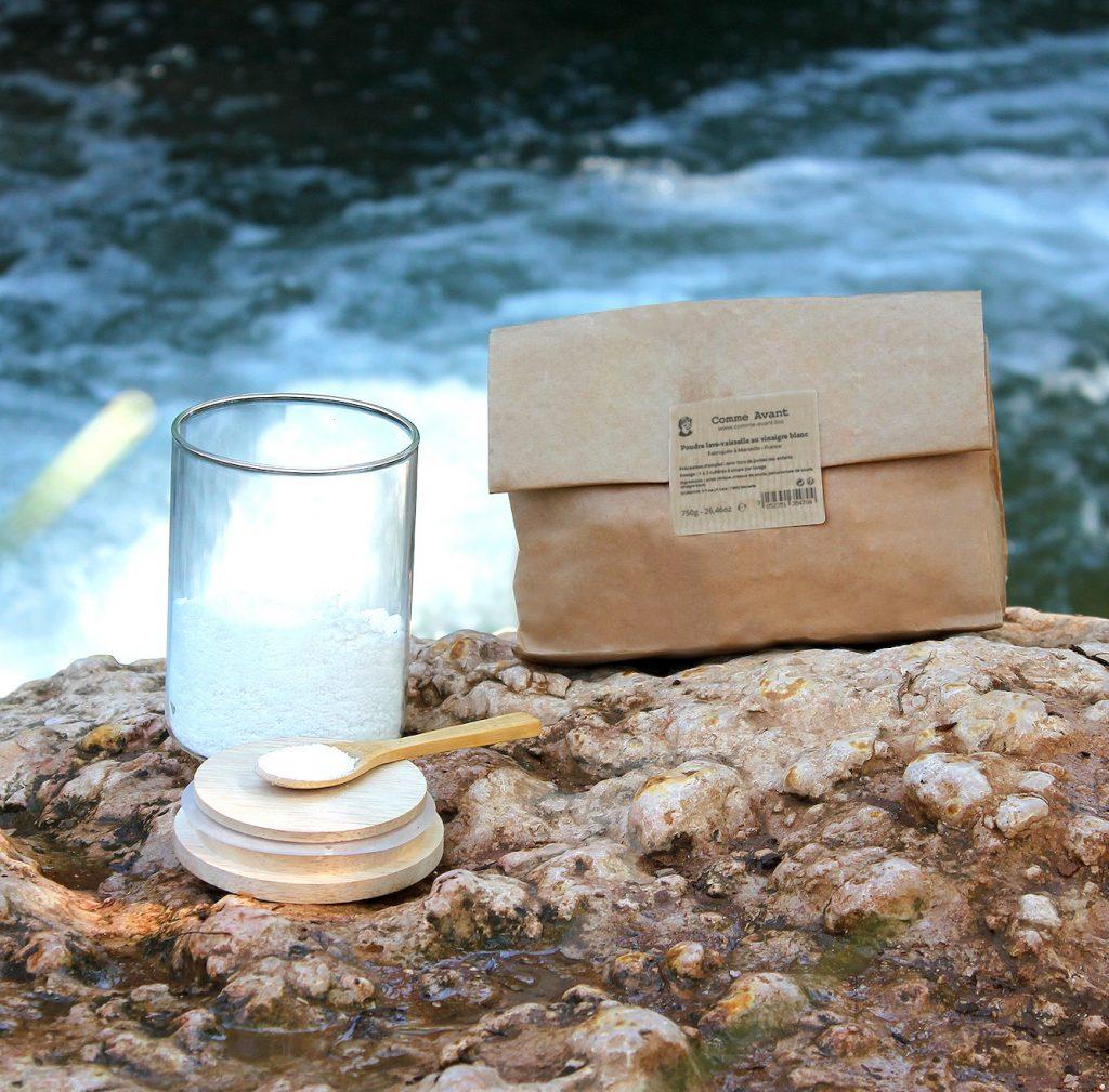 Poudre Lave-Vaisselle Naturelle au Vinaigre Blanc