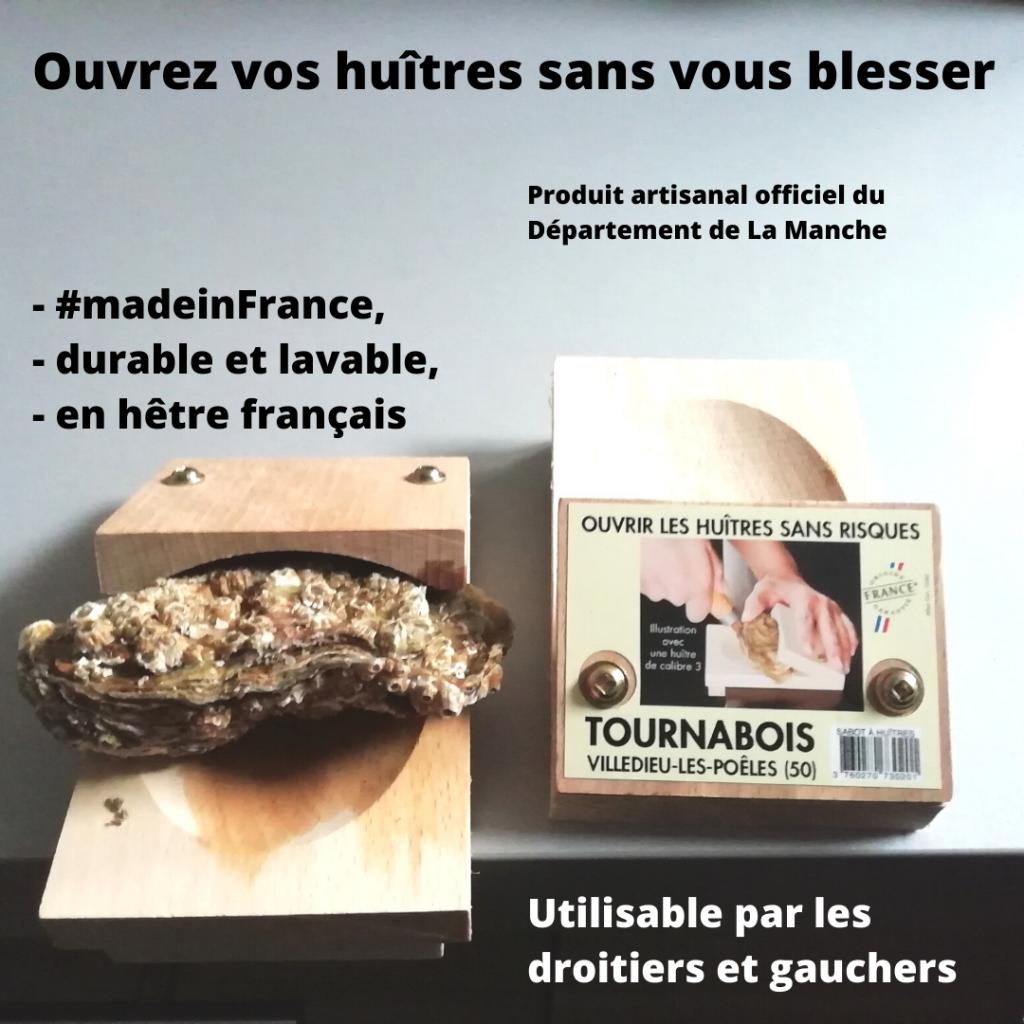 ouvre huitre sans risque et fabriqué en France