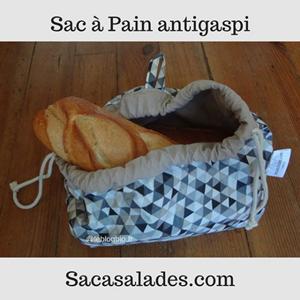 sac à pain lavable de SacaSalades