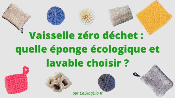 Difficile de choisir son éponge écologique et lavable parmi toutes les solutions proposées ! Connaissez-vous les avantages et les différences entre l'éponge lavable et réutilisable, la lavette crochetée, le loofa ou encore le tawashi fait main ? C'est le moment de faire le point.