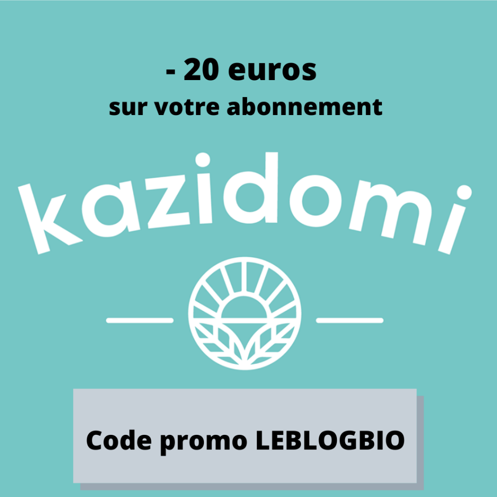 KAZIDOMI DEMOCRATISE L' ALIMENTATION SAINE
