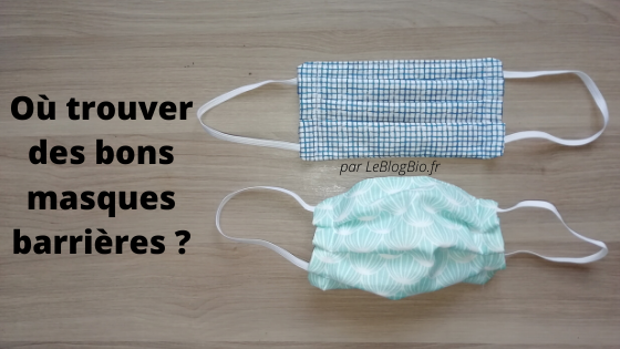 Où trouver des bons masques barrières en tissus lavables pour lutter contre le coronavirus