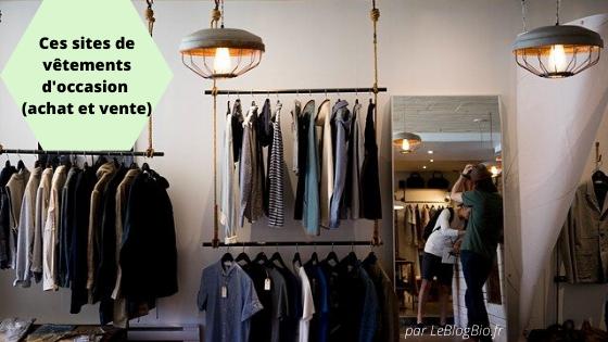 Où acheter ses vêtements d'occasion (et où les vendre)