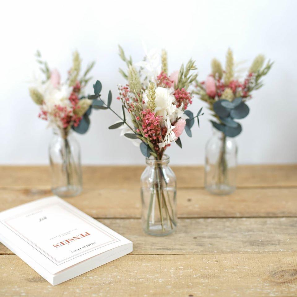 Flowrette création de bouquets de fleurs séchées