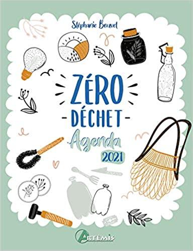 livre - agenda zéro déchet - edition Artemis