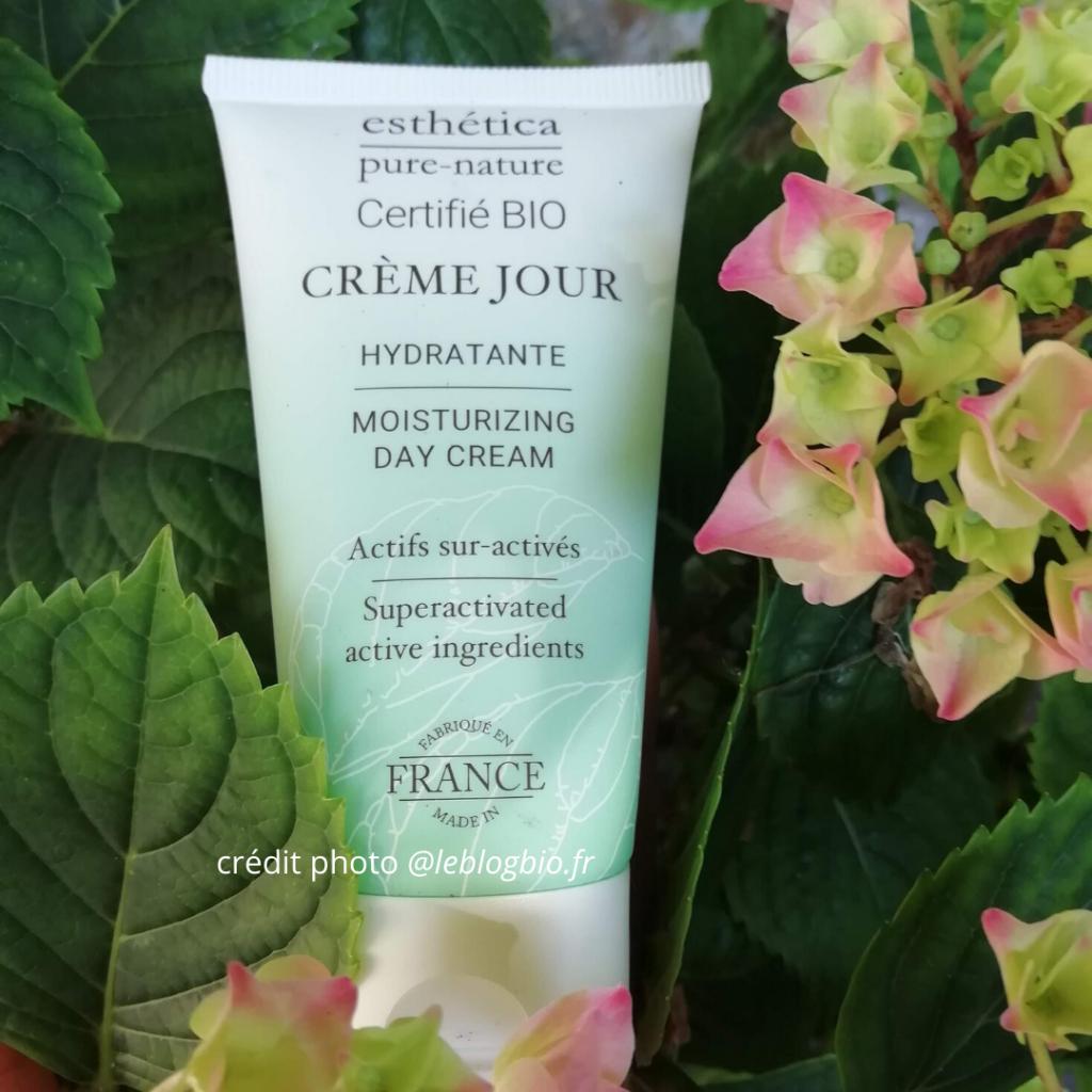 Crème de jour visage hydratante Bio Esthética - BElleauNaturel idées cadeaux