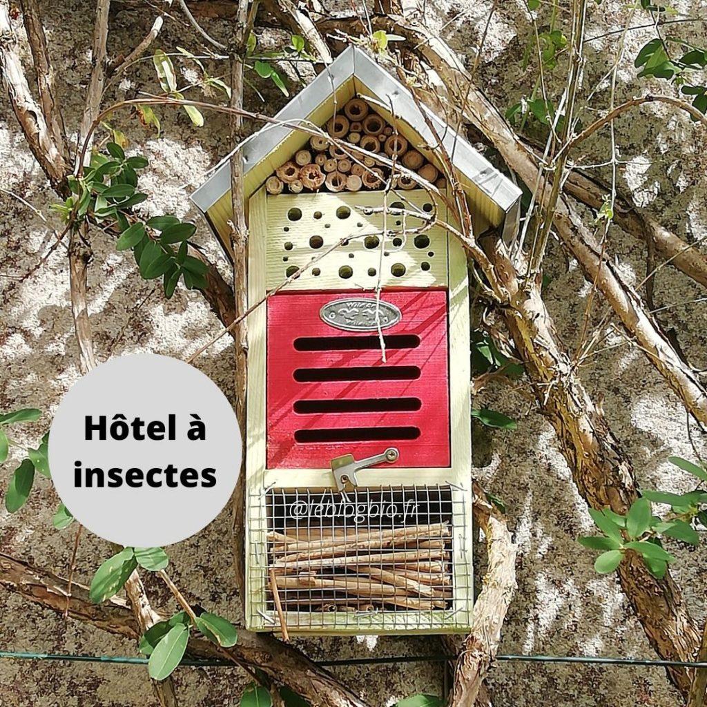 Mon Petit Coin Vert - Hotel à insectes