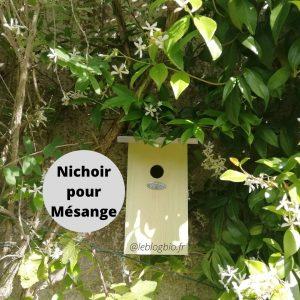 Nichoir pour Mésange chez Mon Petit Coin Vert