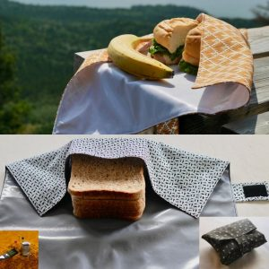 Pochette à Sandwich pour pique-nique zéro déchet
