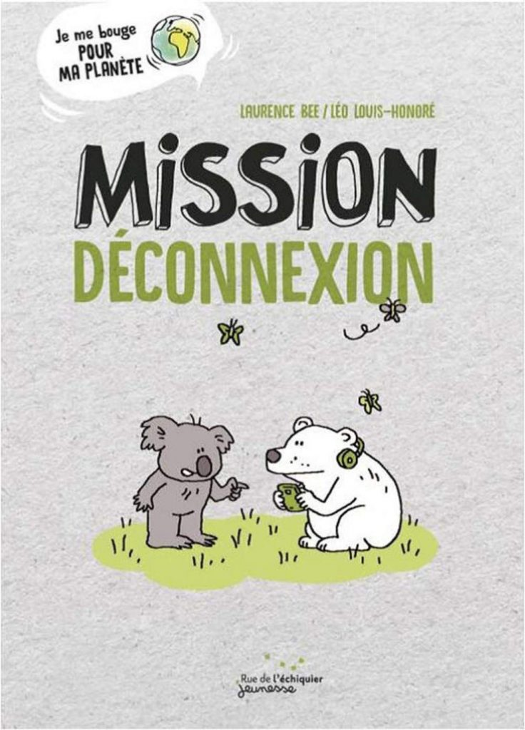 livre - Mission déconnexion (enfant)