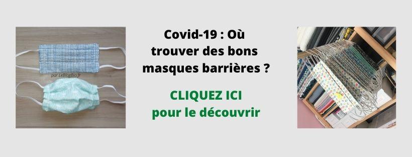 Covid-19 Où trouver des bons masques barrières - coronavirus