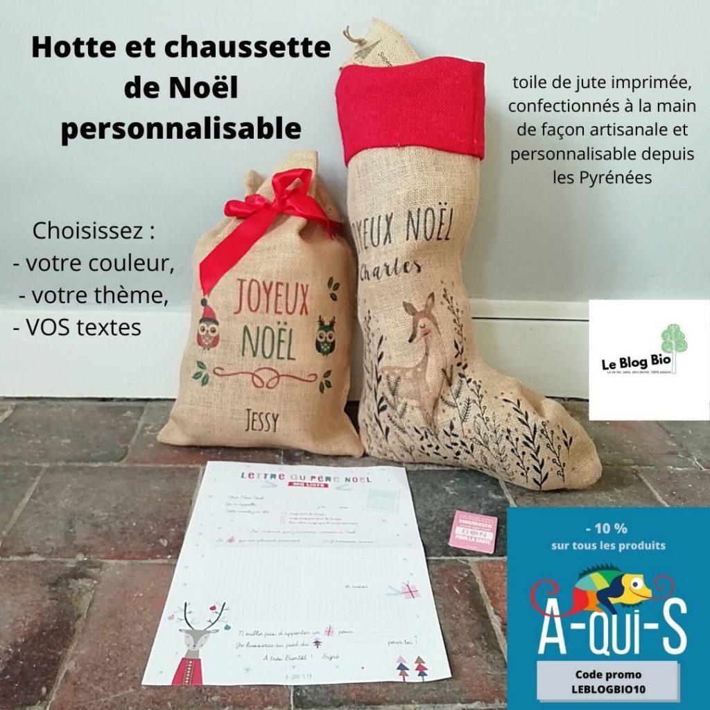 A-qui-S - emballage cadeau Noel