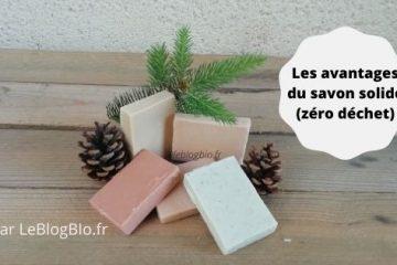 Les avantages du savon solide (zéro déchet)