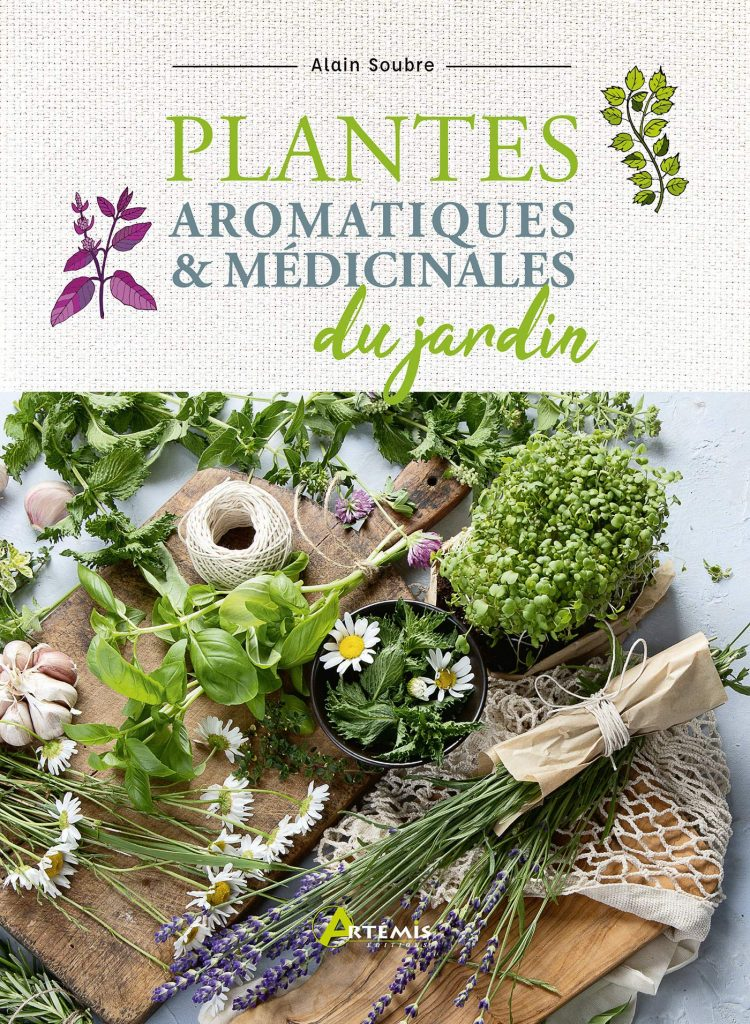 Plantes aromatiques et médicinales du jardin 2021 livres écolos