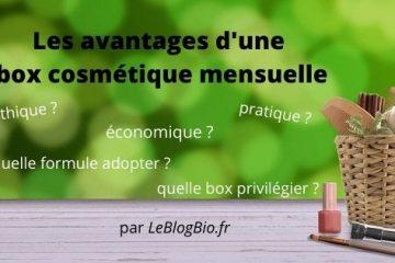 Les avantages d'une box cosmétique mensuelle