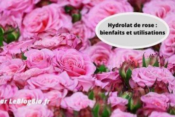 Hydrolat de rose bienfaits et utilisations