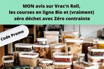 Vrac'n Roll, les courses en ligne Bio et zéro déchet avec Zéro contrainte + code promo